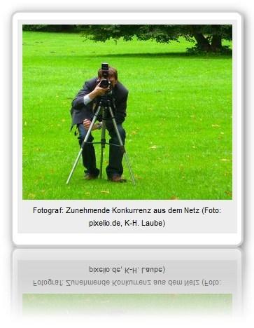 [ KLICK! ]: Internet macht Pressefotografen zu schaffen!