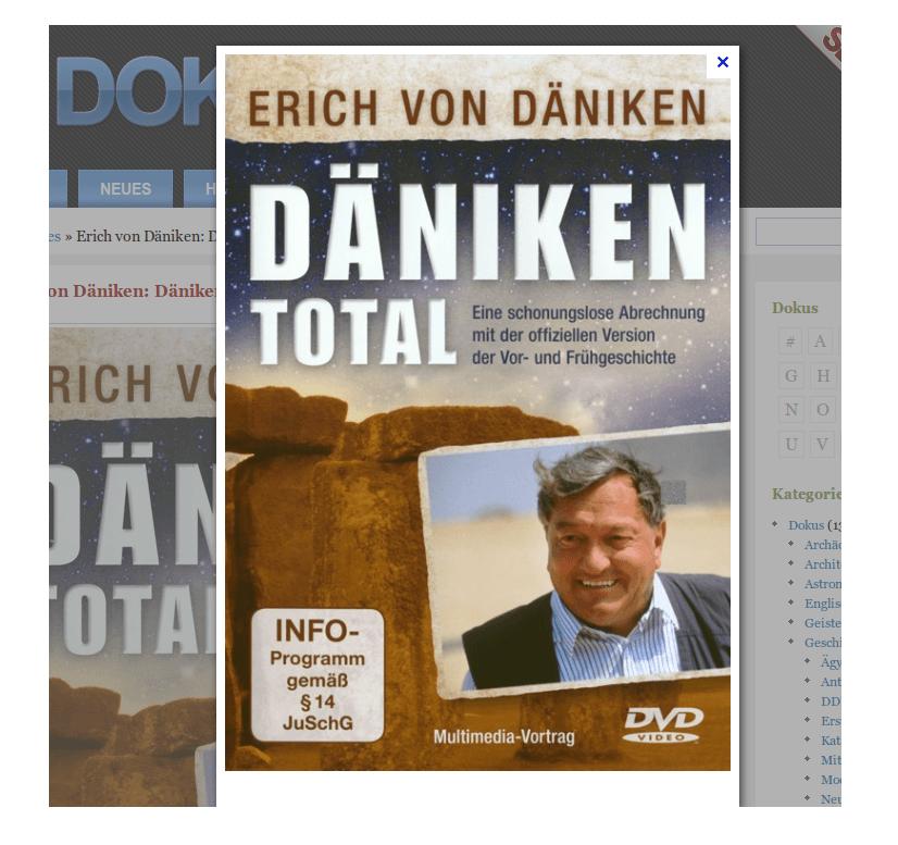 Erich von Däniken: Däniken Total!