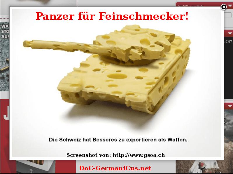 [ NACHHALTIG! } Ökologische Kriegsführung!