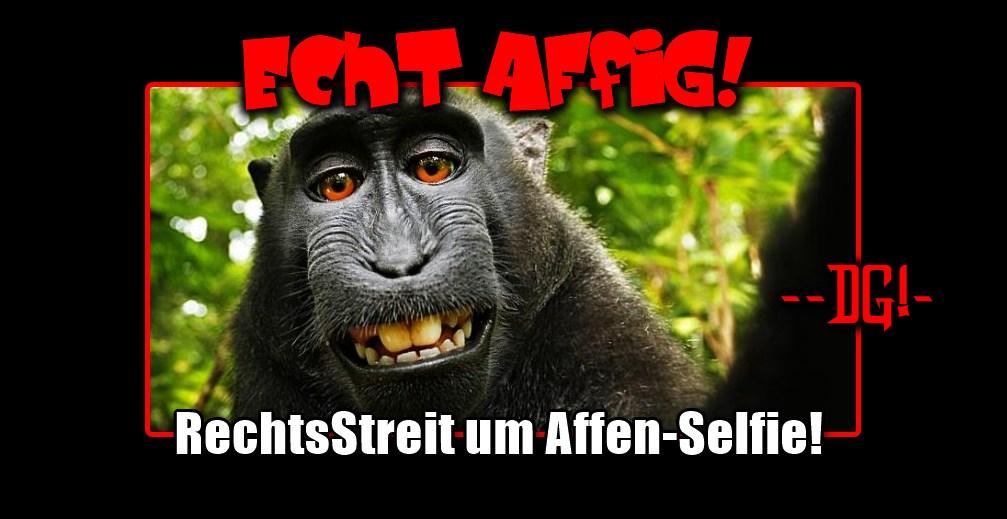 [ AFFIG! } Grinsendes Affen-Selfie: Kein Copyright für Naruto!