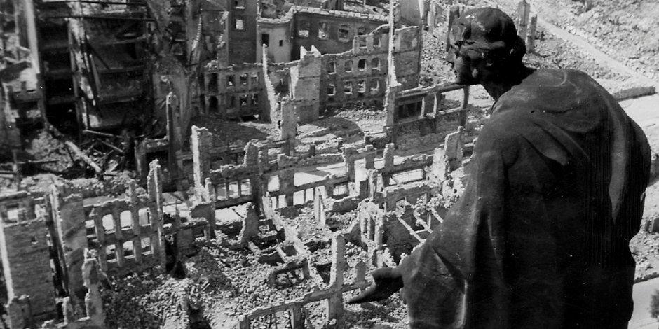 [ Erinnerung! } Als Dresden zum Krematorium wurde!